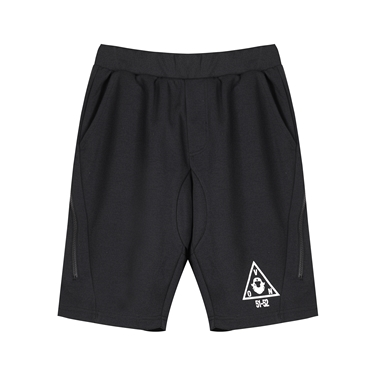 男裝VON拉鍊造型印花運動短褲