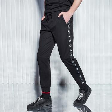 男裝VON街頭運動風休閒束口褲