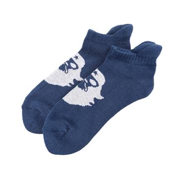 BSX品牌LOGO撞色短襪(兩雙入)