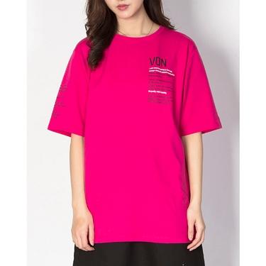 女裝VON織帶印花T恤