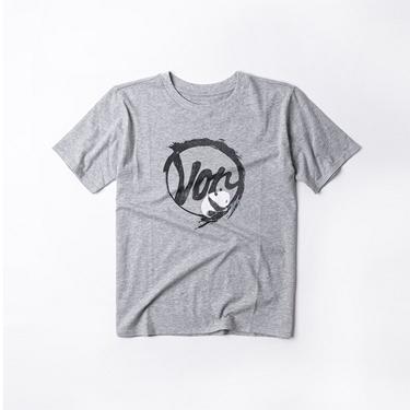 女裝手繪塗鴉印花寬版T恤