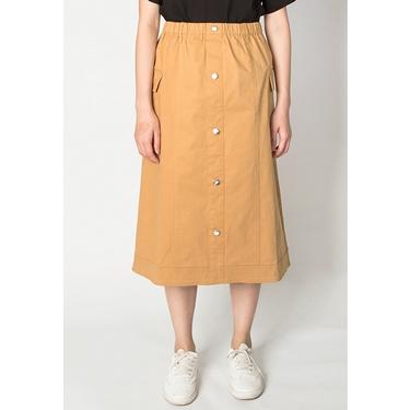 女裝VON工裝風排扣長裙