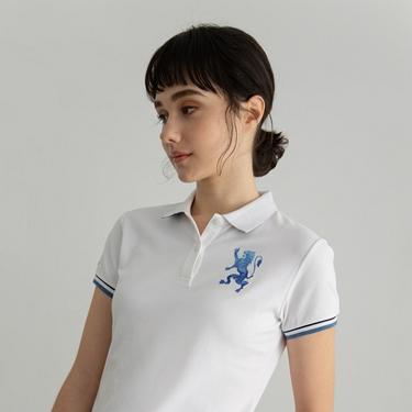 女裝勝利獅王刺繡POLO衫