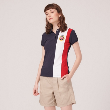女裝UNION JACK系列短袖POLO衫