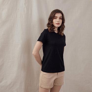 女裝極簡素色T恤