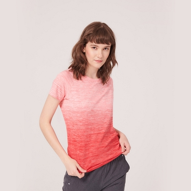 女裝G-MOTION運動彈力短袖T恤