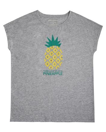 女裝夏日寬版水果印花T恤
