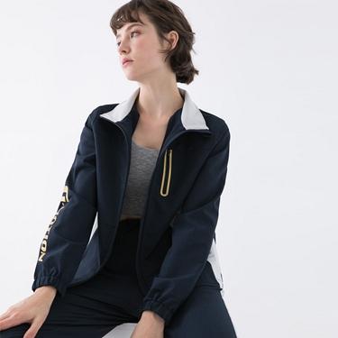 女裝3M拼接立領外套