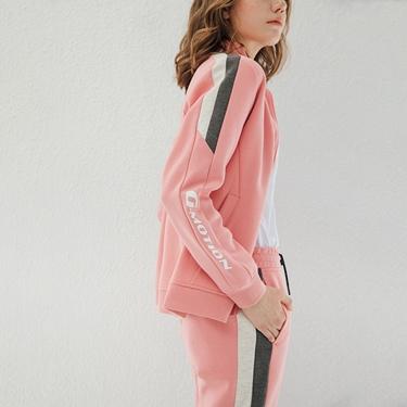 女裝G-MOTION撞色拼接運動外套
