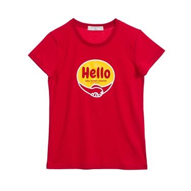 女裝Greeting印花T恤