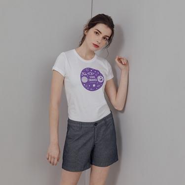 女裝Hello Space印花T恤
