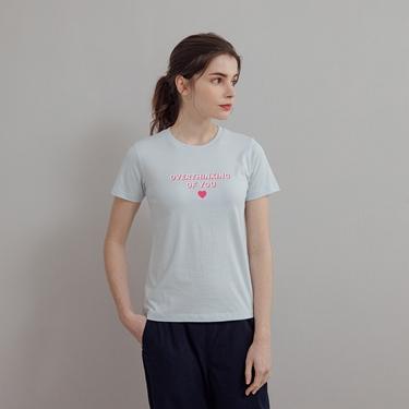 女裝LOVE印花短袖T恤