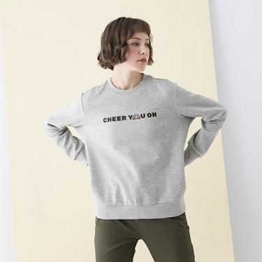 女裝CHEER YOU ON大學T恤