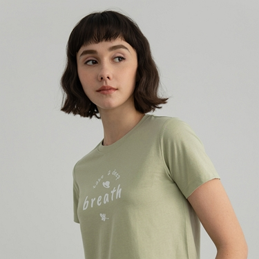 女裝Positive印花T恤