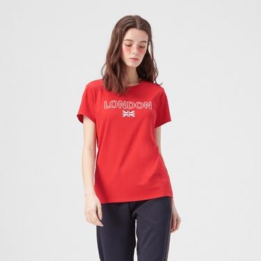 女裝UNION JACK系列短袖T恤