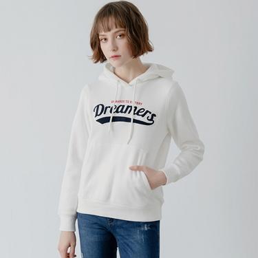 女裝 Dreamers系列復古風連帽T恤