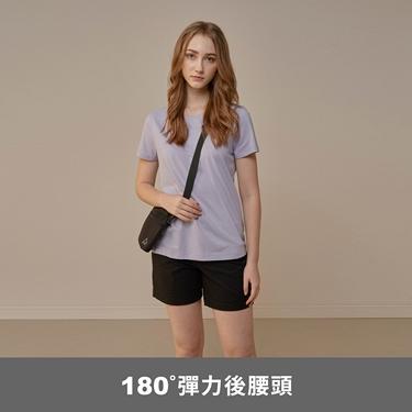 女裝素色休閒卡其短褲
