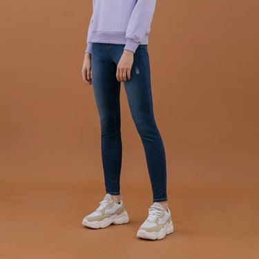 女裝超彈力緊身牛仔褲