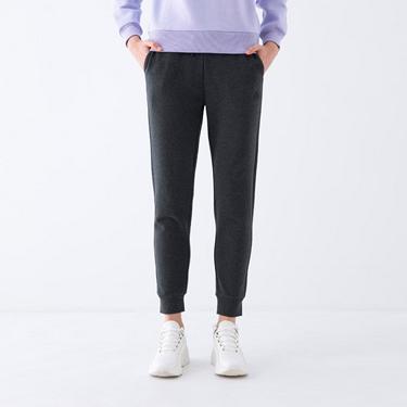 女裝素色彈性束口褲