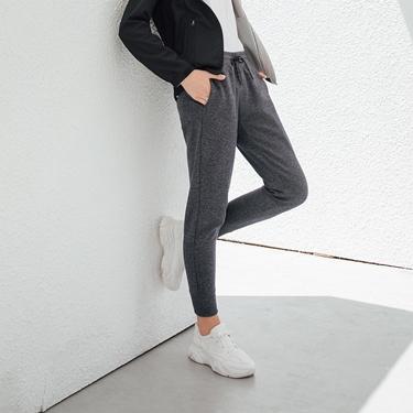 女裝G-MOTION拉鍊口袋運動休閒束口褲
