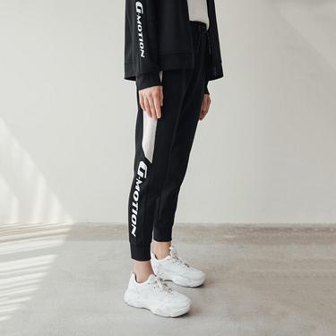 女裝G-MOTION側邊字母運動束口褲