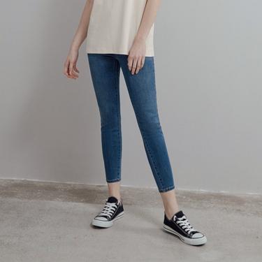 女裝貼身窄管牛仔九分褲