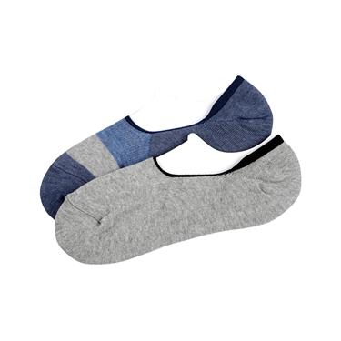 幾何圖案舒適彈力短襪(2雙入)