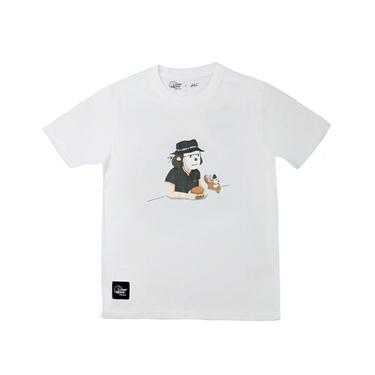 男款 Lowe alpine Silvermark  x Abei聯名插畫T恤