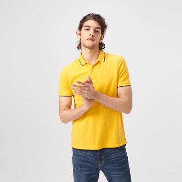 男裝經典素色短袖POLO衫