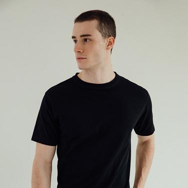 男裝厚磅棉T恤