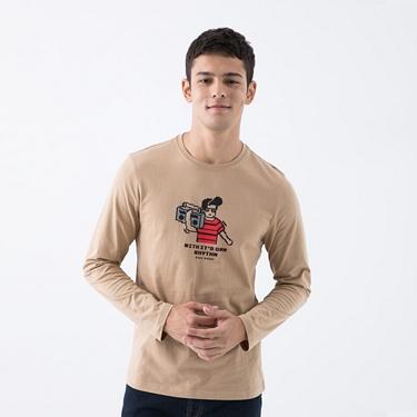 男裝8Bit像素印花T恤