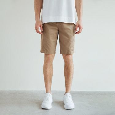 男裝扣帶工裝短褲
