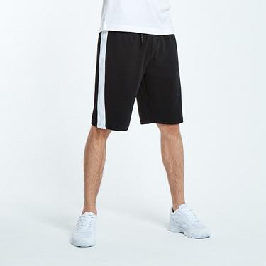 男裝素色休閒針織短褲