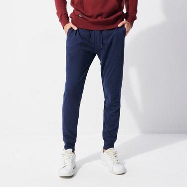 男裝基本款棉質休閒運動束口褲