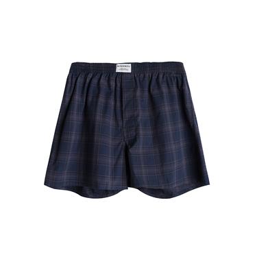 男裝平織寬鬆四角褲