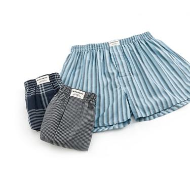男裝平口四角褲(三件裝)