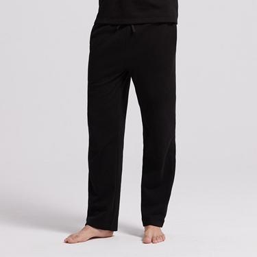 男裝Homewear厚款內刷毛鬆緊素色居家褲