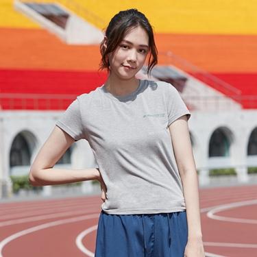 女裝運動系列吸濕排汗素色短袖T恤