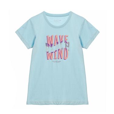 女裝復古印花短袖T恤