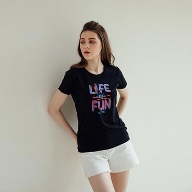 女裝夏日陽光印花T恤