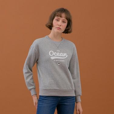 女裝OCEANS大學T恤