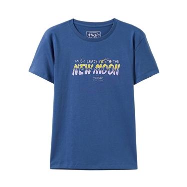女裝MUSIC系列印花短袖T恤