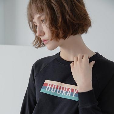 女裝 Retro Wave復古大學T恤