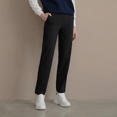 女裝腰鬆緊抽繩機能防風長褲