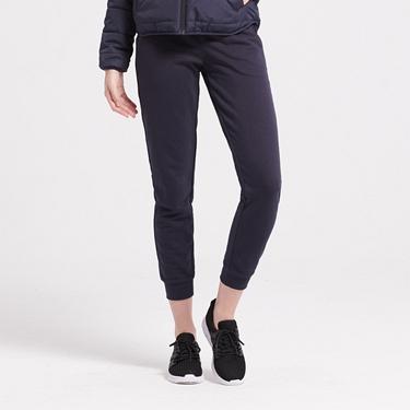 女裝素色抽繩運動休閒束口褲