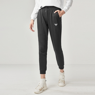 女裝刺繡運動束口褲