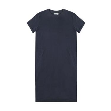 女裝簡約素色純棉連身裙