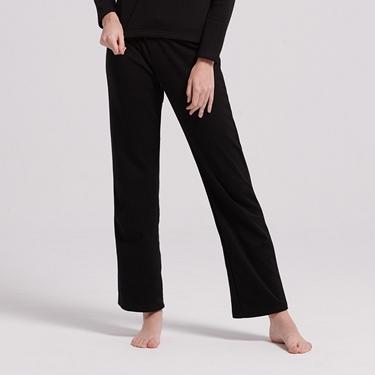 女裝Homewear厚款內刷毛鬆緊素色居家褲