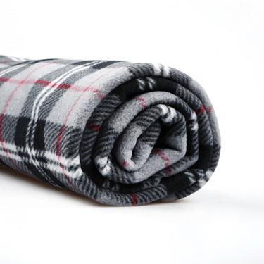 Homewear系列厚實保暖格紋刷毛毯